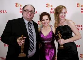 Kristen Harris wins ACTRA Manitoba Award